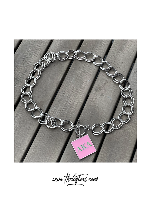 Monogram Chain Link Necklace REMIXED