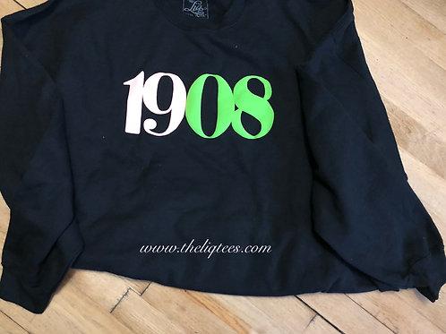 1908 Puff & Suede Sweatshirt