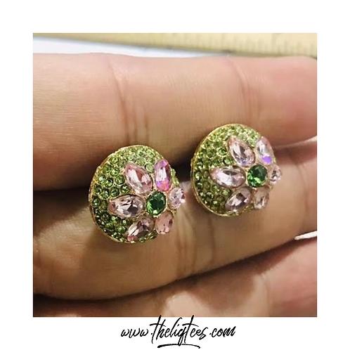 VP Rhinestone Earrings