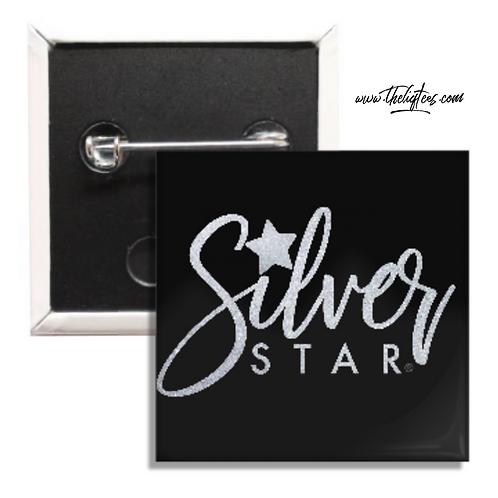 Silver Star Button