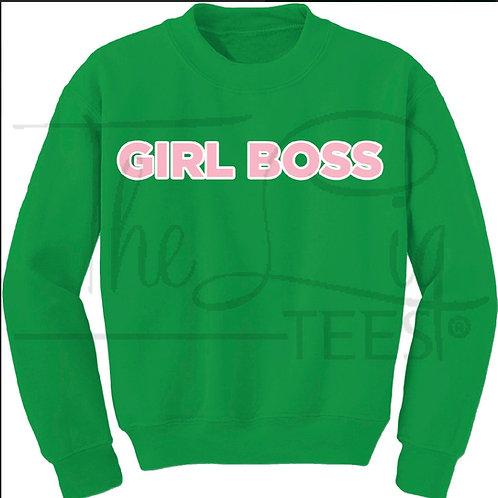 Professions Line - Girl Boss