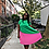 "Thumbnail: ""VOTE"" Two-Tone Pleated Dress"