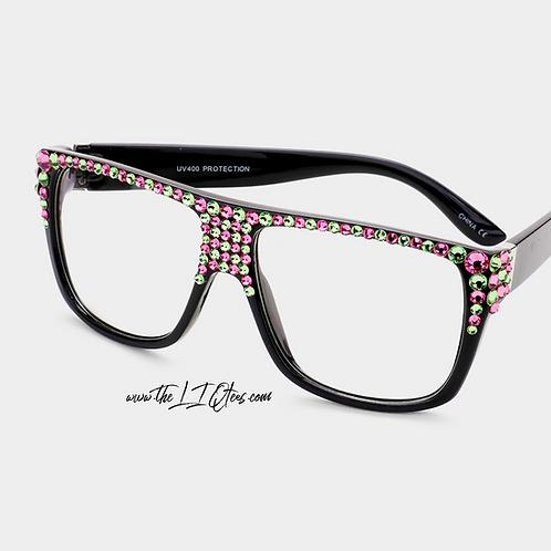 "Bar ""Faux"" Glasses"