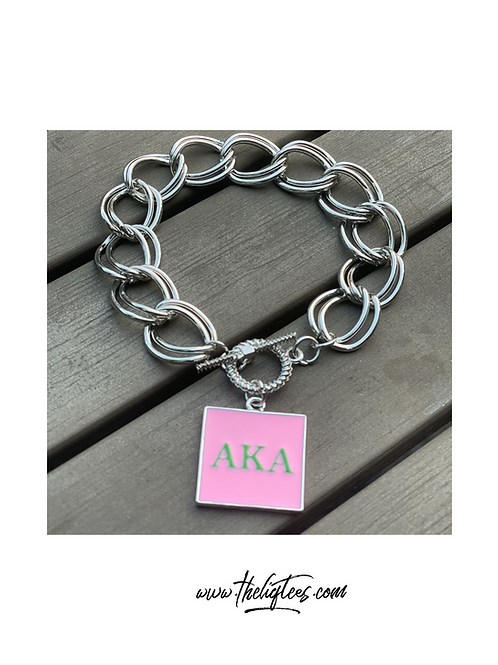 Monogram Chain Link Bracelet REMIXED