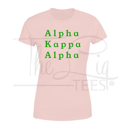 Classic Alpha Kappa Alpha Tee
