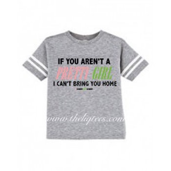 No Pretty Girl? No Go! - Football Shirt