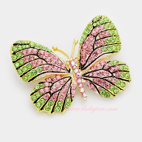 You Give Me Butterflies Brooch