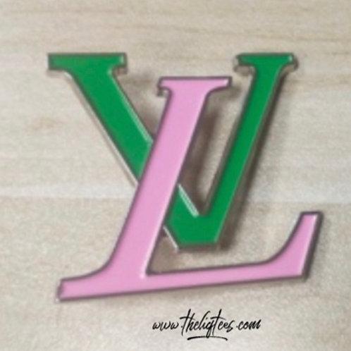 L & V Lapel Pin