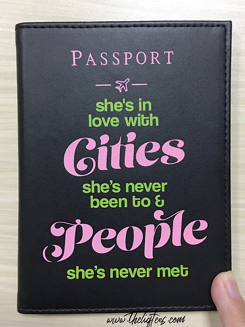 Cities & People Passport
