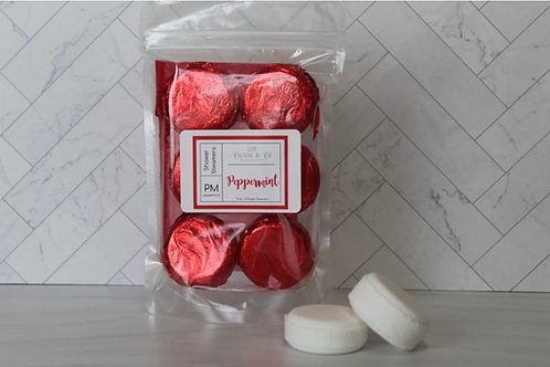 Reds (peppermint) Shower Fizz Pacs