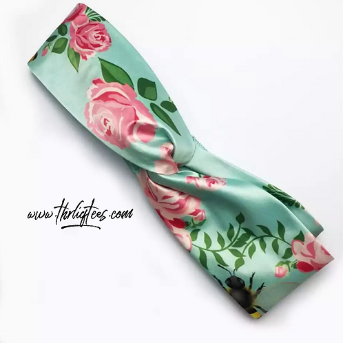 Tea Rose Headband