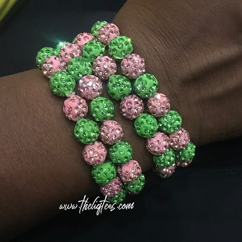 Glitzy & Sparkly Stretch Bracelets