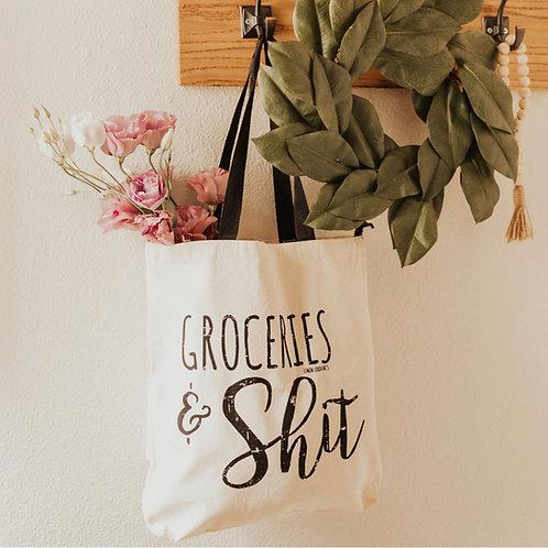 Groceries & Sh*t Tote