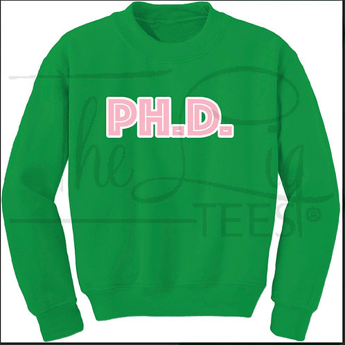Professions Sweatshirts|PHd