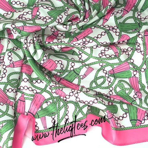It's The Pink & Green 4  Me Scarf
