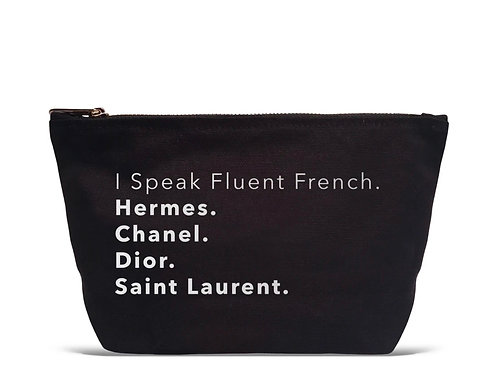Fluent in French Pouch