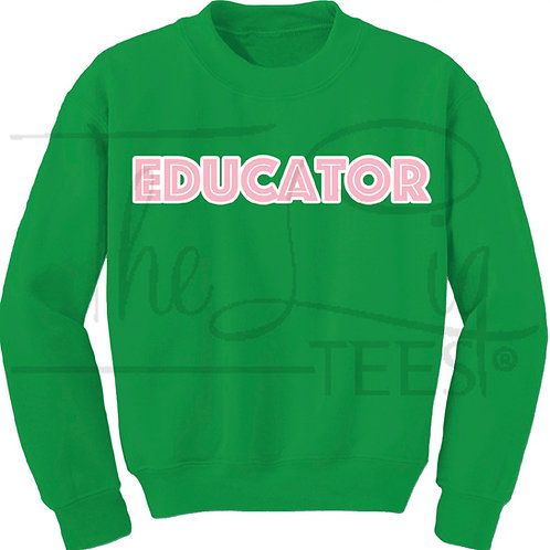 Professions Sweatshirts|Educator