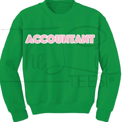 Professions Sweatshirts|Accountant