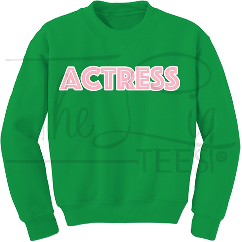 Professions Line - Actress