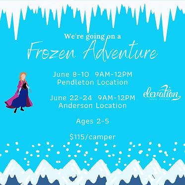 Copy of Frozen Adenventrue - Preschool (
