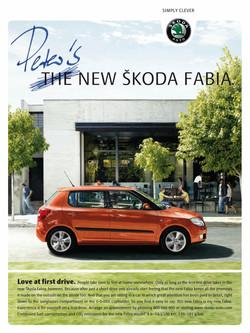 Kampagne Skoda Fabia