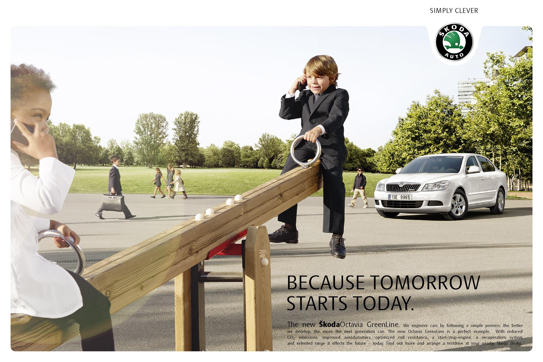 Greenline Print Kampagne