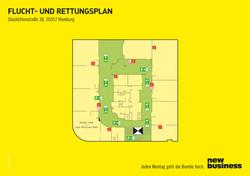 New Business Fluchtplan
