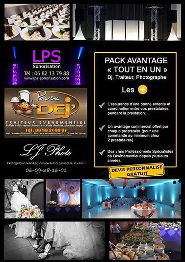 NOUVEAU !  Pack Avantage  _Tout en un_ .