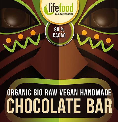 Organska Sirova Čokolada 80% kakao 35g
