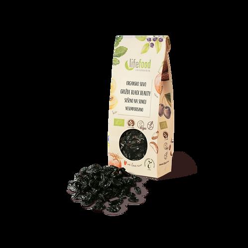 Organsko Grožđe Black Beauty Sušeno na Suncu - nesumporisano 100g