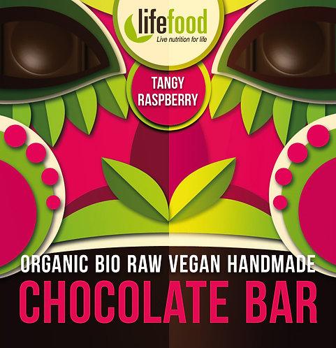 Organska Sirova Čokolada Malina 35g