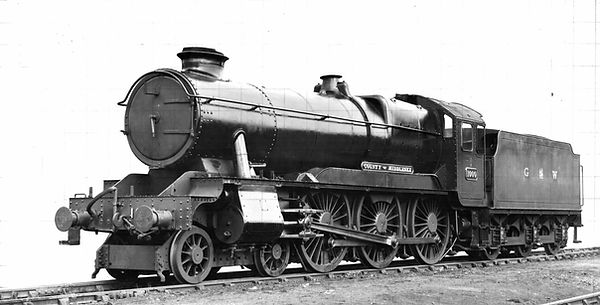 Hawksworth County 1000 County of Middlesex on th day of its naming in 1946 (C) GWR / Chris Hoskin
