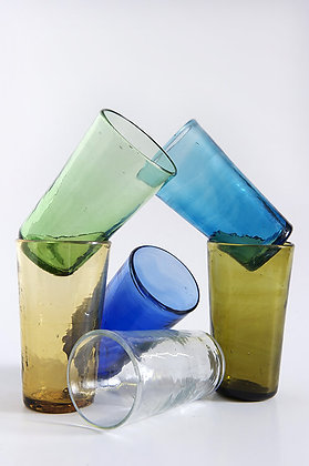 Grand verre recyclé