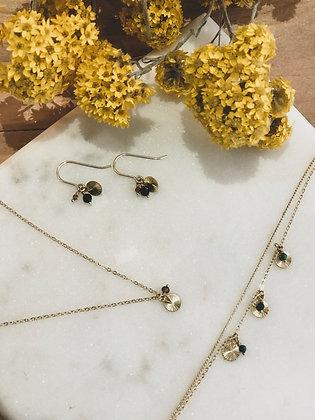 Création d'une Parure Collier, Bracelet,Boucles d'Oreilles