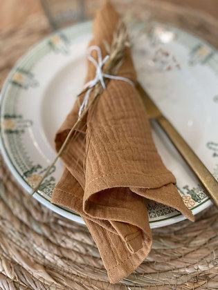 Serviette de Table en Gaze de coton