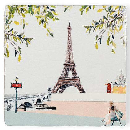 """Carreau de céramique """"Paris I Love You"""""""