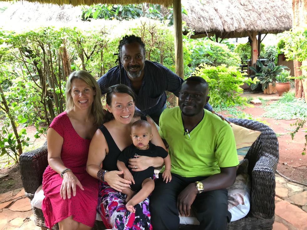 Eco Mama's Global Community Gardens, Team