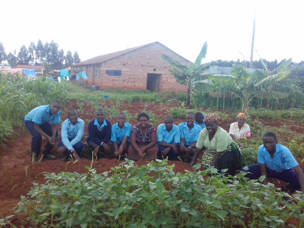Purpose Driven School, Eco Mama's Global Community Gardens
