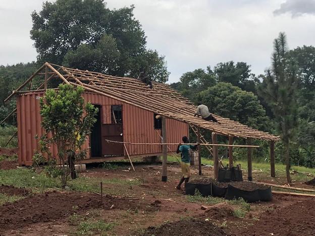 Eco Mama's Global Community Gardens, Wakelenge Demostration Garden