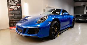 Porsche 911 XPEL PPF Process