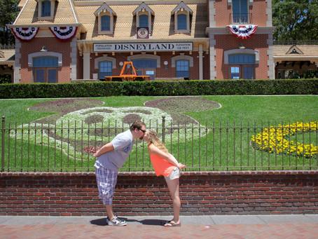 Southern California Couple | Cat & Orson do Disneyland