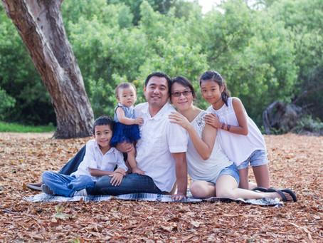 Huntington Beach Portrait Session | The Lu Family