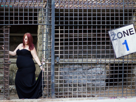 Los Angeles Maternity Photography | The Old Zoo