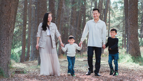 Orange County Family Session|The Tsai Family