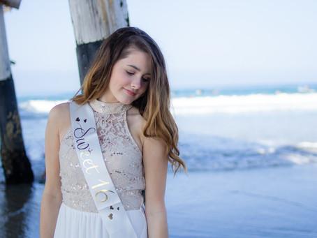 Newport Beach Birthday Session | Morgan's Sweet Sixteen