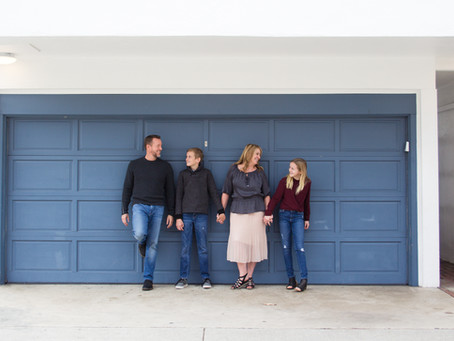 Orange County Family Session | The Davis Family