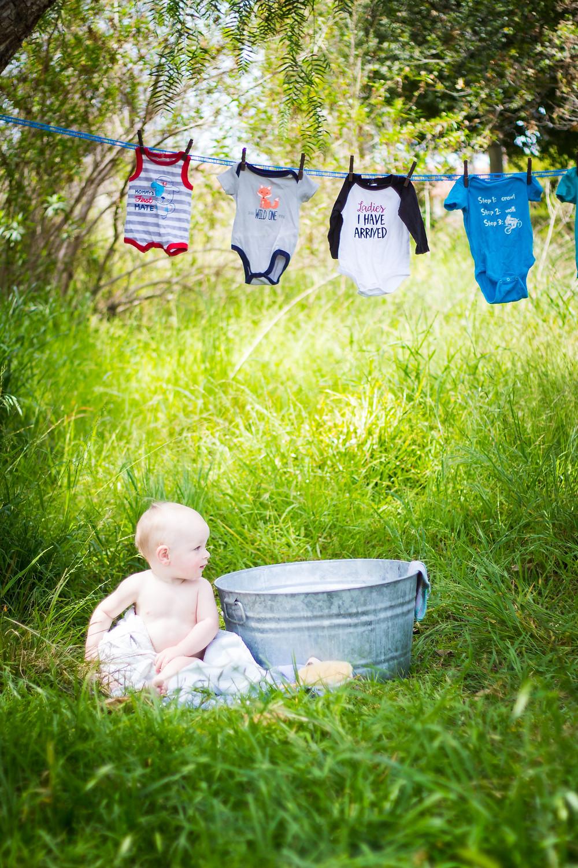 Baby Bath Session