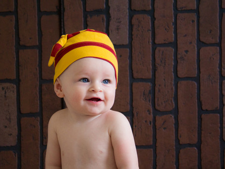 Harry Potter Baby Session | Brody is 7 months!
