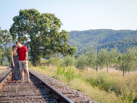 Napa Valley Engagement Photography | Daniela & Marcus