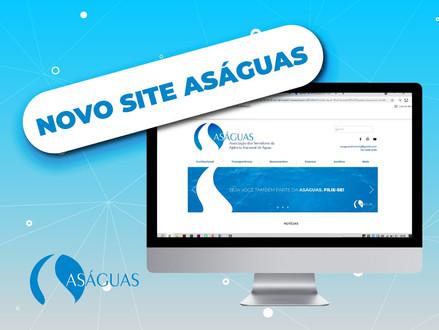 O site da Aságuas está de cara nova!